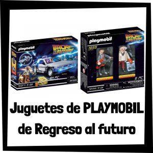 Juguetes de Playmobil de Regreso al Futuro