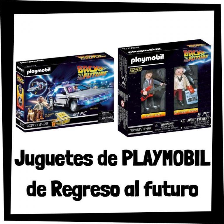 Lee más sobre el artículo Juguetes de Playmobil de Regreso al Futuro