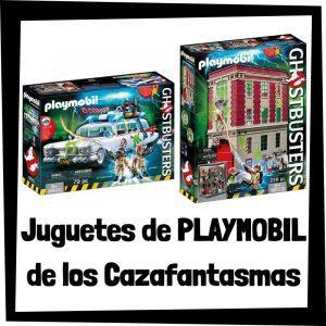 Juguetes de Playmobil de los Cazafantasmas