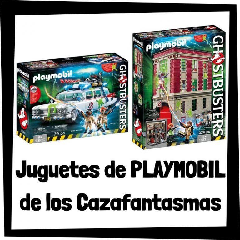 Lee más sobre el artículo Juguetes de Playmobil de los Cazafantasmas