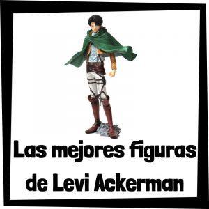 Figuras coleccionables de Levi Ackerman de Ataque a los titanes