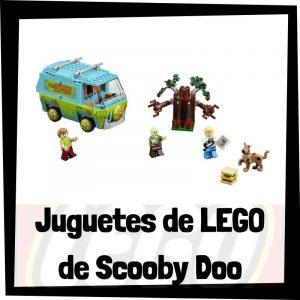 Juguetes de LEGO de Scooby Doo - Sets de lego de construcción de Scooby Doo