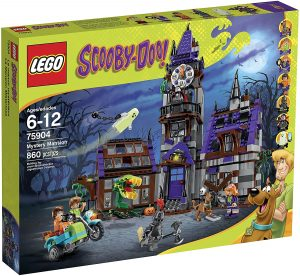 Set de LEGO de la Mansión Encantada de Scooby Doo 75904 - Los mejores juguetes de LEGO de Scooby Doo