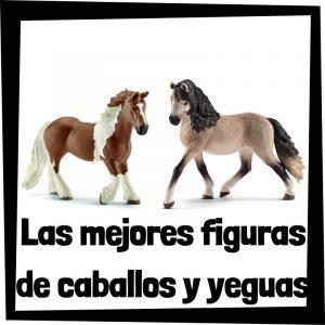 Figuras de caballos y yeguas